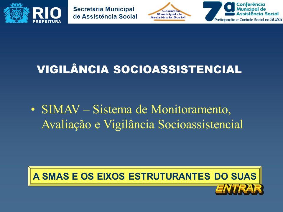 A SMAS E OS EIXOS ESTRUTURANTES DO SUAS