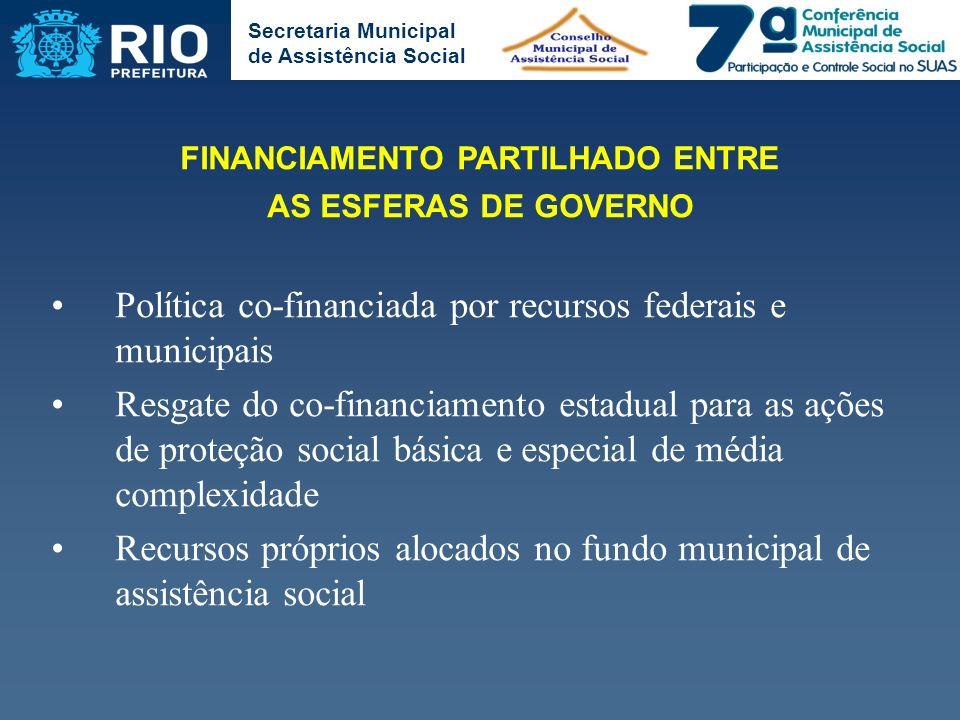 FINANCIAMENTO PARTILHADO ENTRE