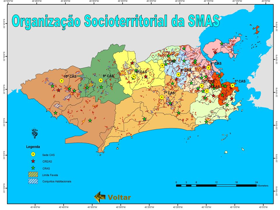 Organização Socioterritorial da SMAS