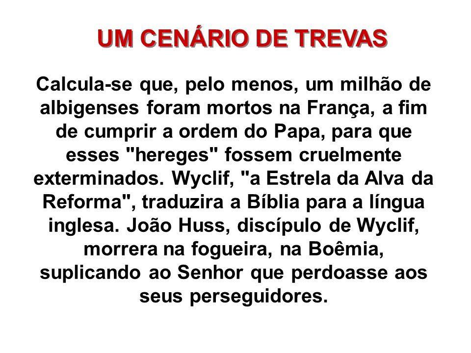 UM CENÁRIO DE TREVAS