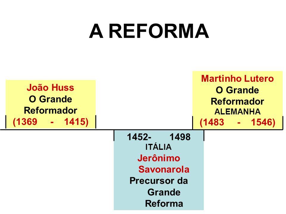 Precursor da Grande Reforma