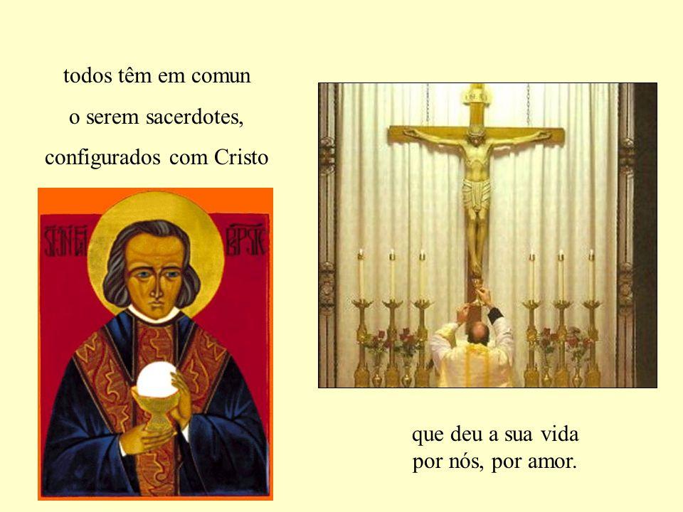 configurados com Cristo