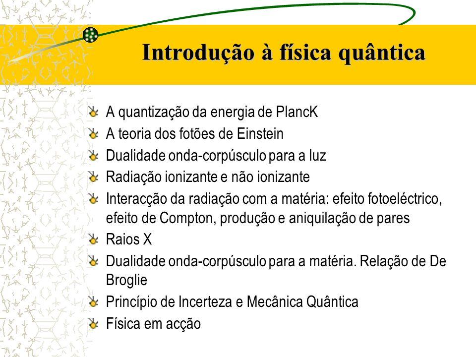 Introdução à física quântica