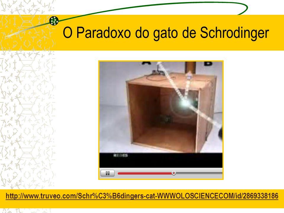 O Paradoxo do gato de Schrodinger