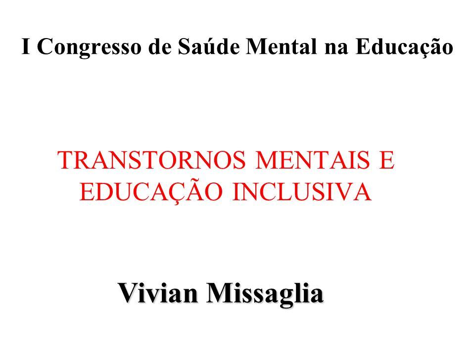 I Congresso de Saúde Mental na Educação