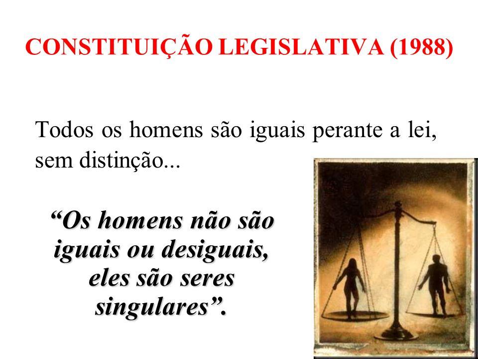 CONSTITUIÇÃO LEGISLATIVA (1988)