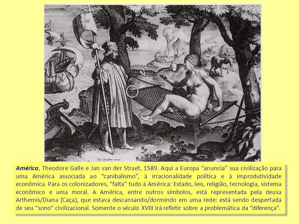 América, Theodore Galle e Jan van der Straet, 1589