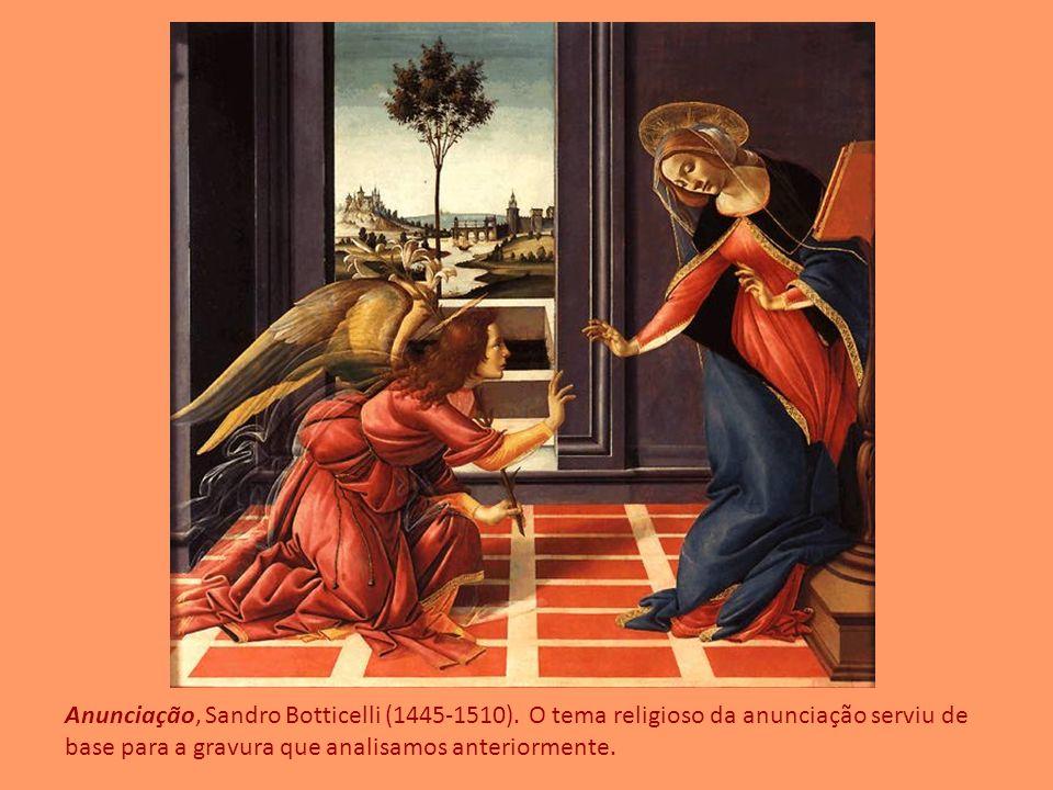 Anunciação, Sandro Botticelli (1445-1510)