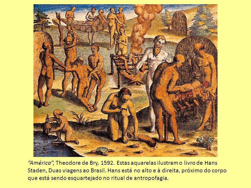 América , Theodore de Bry, 1592