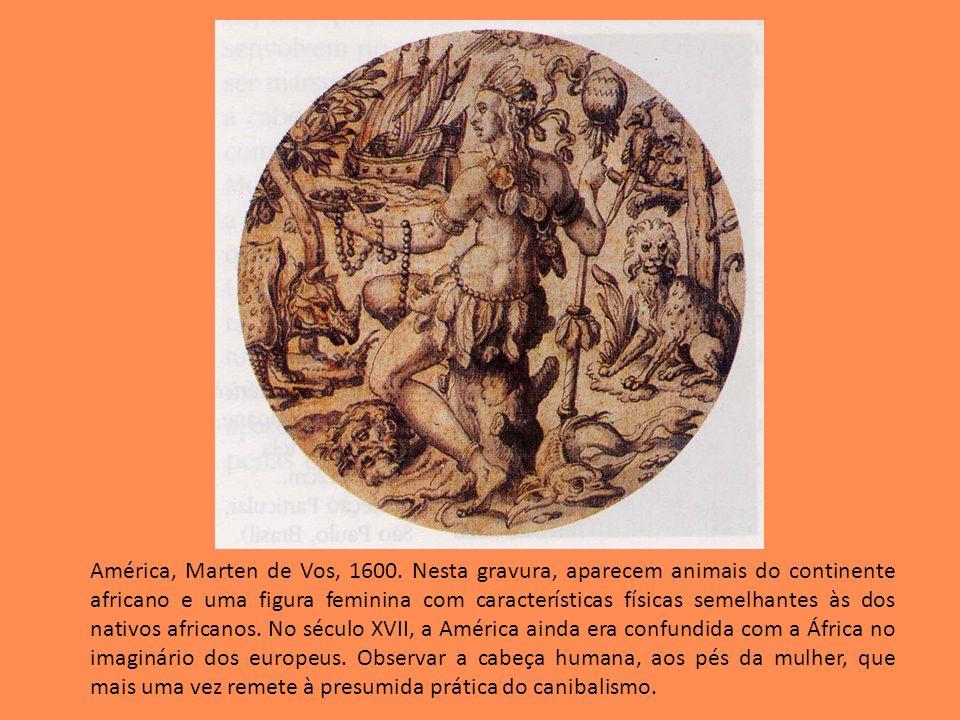 América, Marten de Vos, 1600.