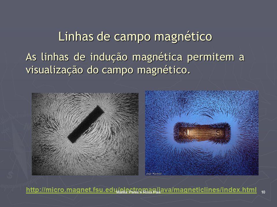 Linhas de campo magnético