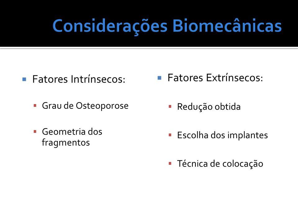 Considerações Biomecânicas
