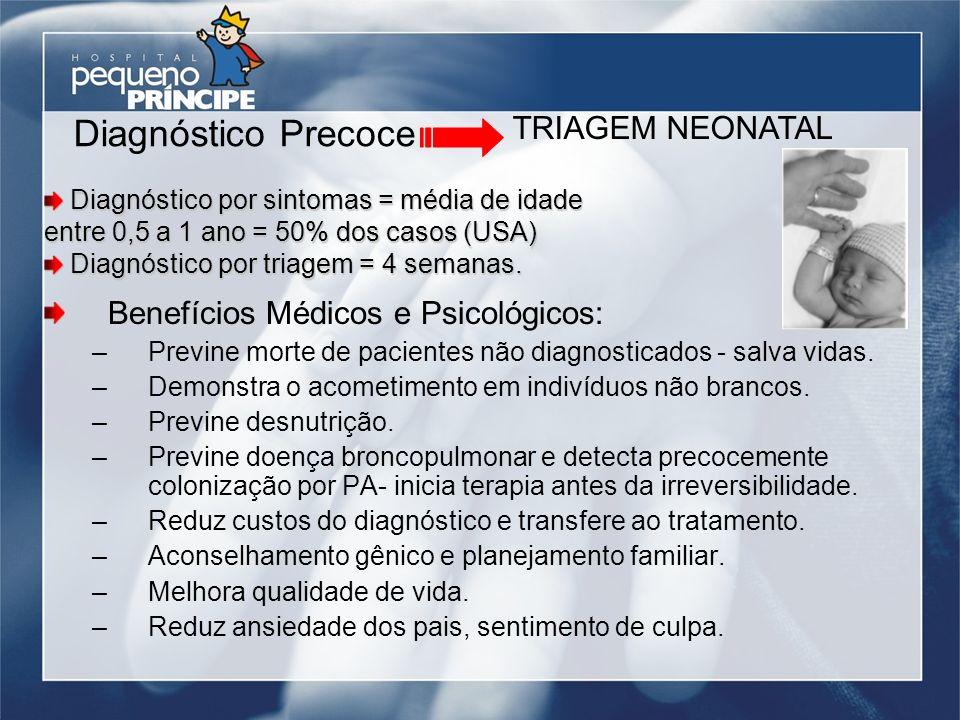 Diagnóstico Precoce TRIAGEM NEONATAL