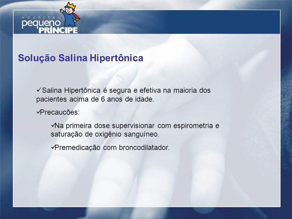 Solução Salina Hipertônica