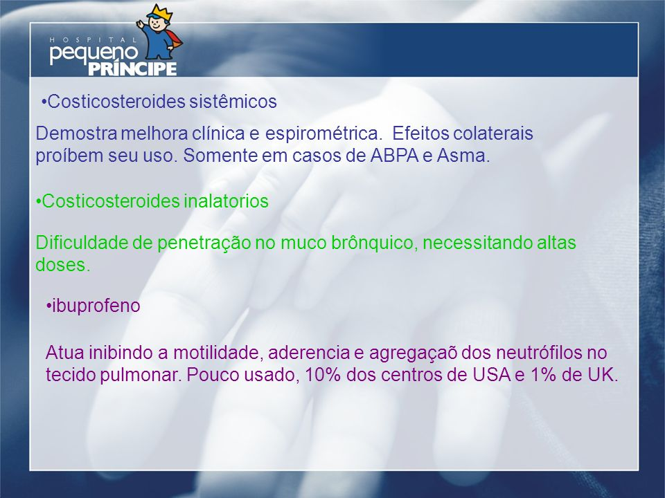 Costicosteroides sistêmicos