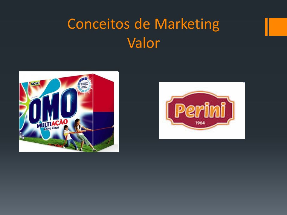 Conceitos de Marketing Valor