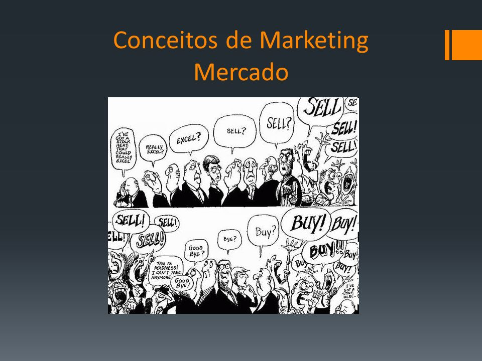 Conceitos de Marketing Mercado