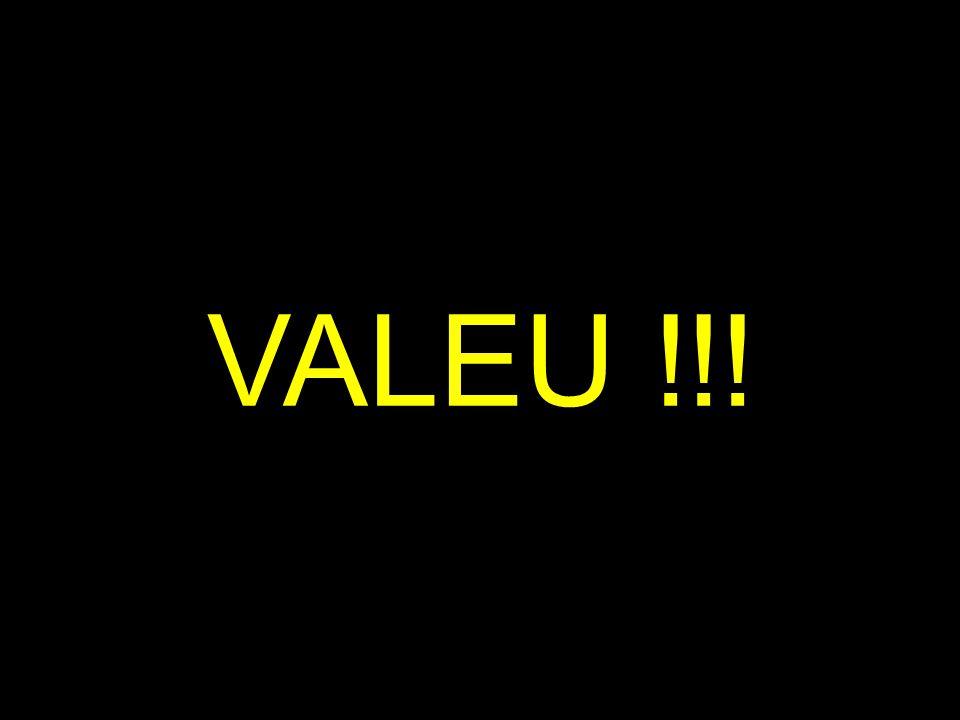VALEU !!!
