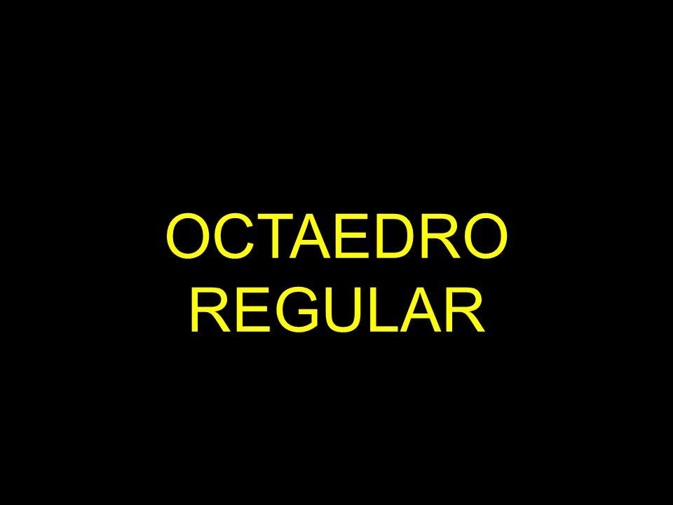 OCTAEDRO REGULAR