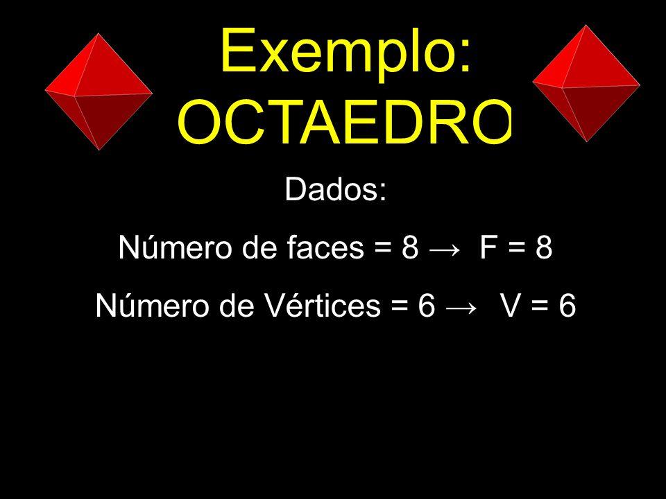 Número de Vértices = 6 → V = 6