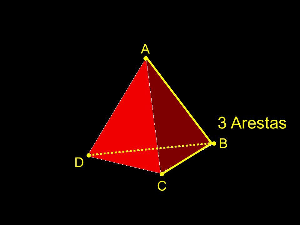 A 3 Arestas B D C