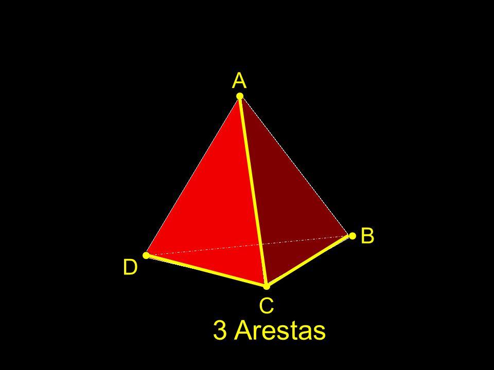 A B D C 3 Arestas