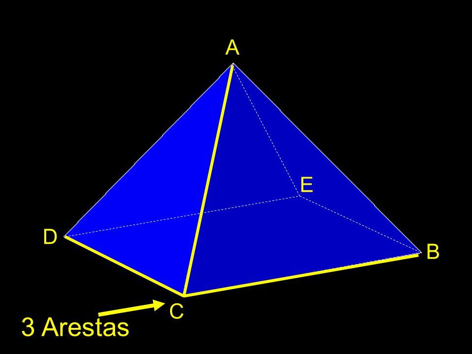A E D B C 3 Arestas