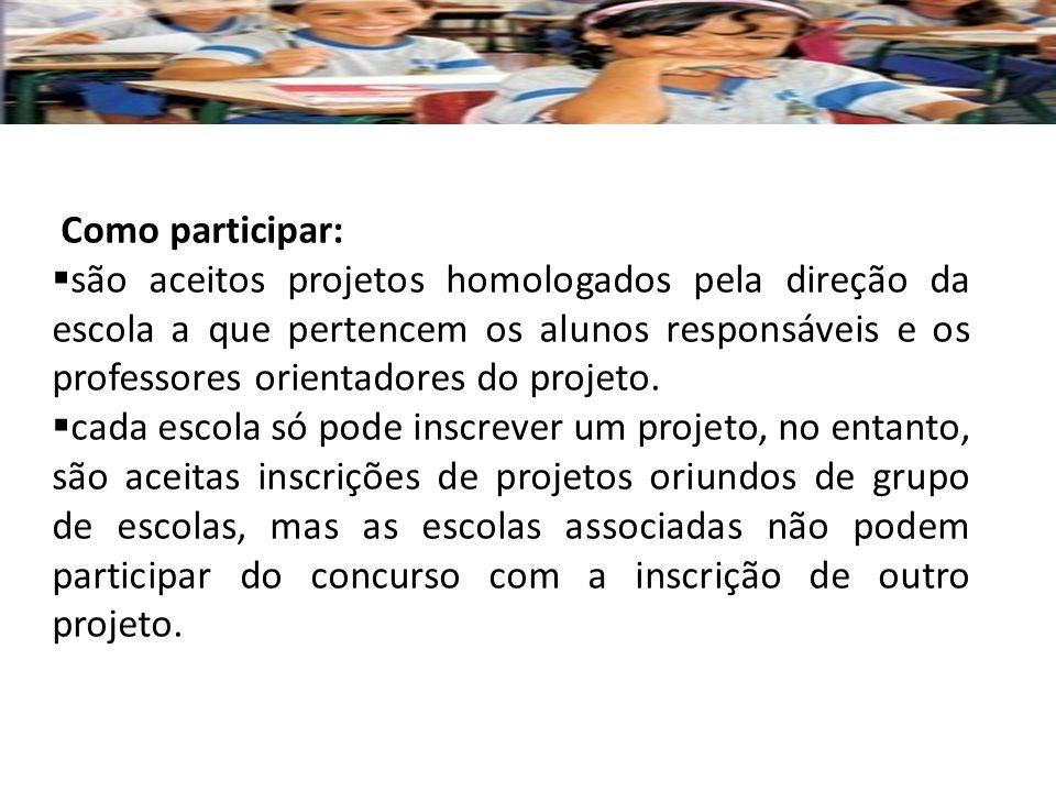 Como participar: