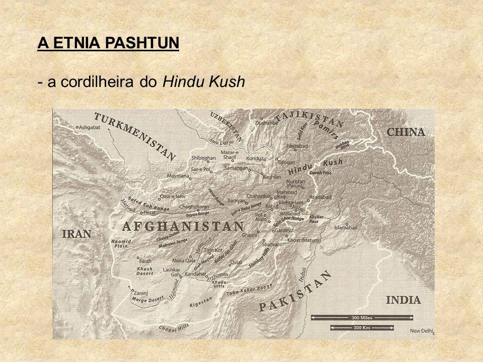 A ETNIA PASHTUN a cordilheira do Hindu Kush