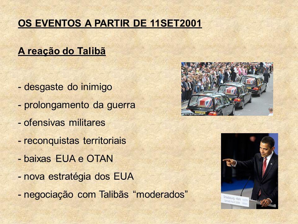 OS EVENTOS A PARTIR DE 11SET2001