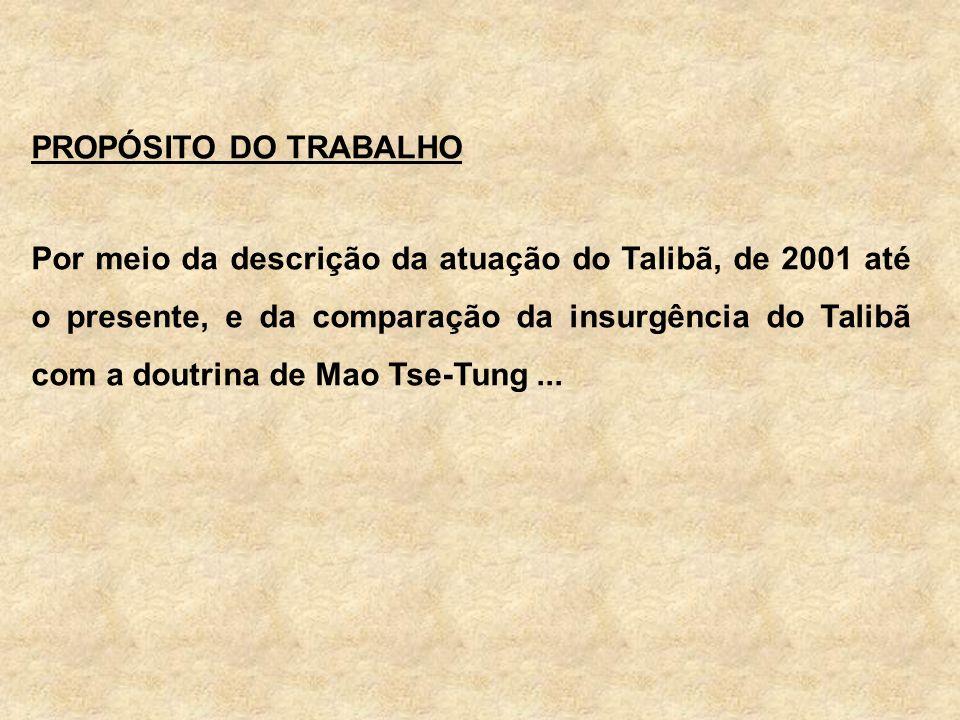 PROPÓSITO DO TRABALHO