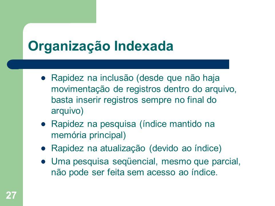 Organização Indexada