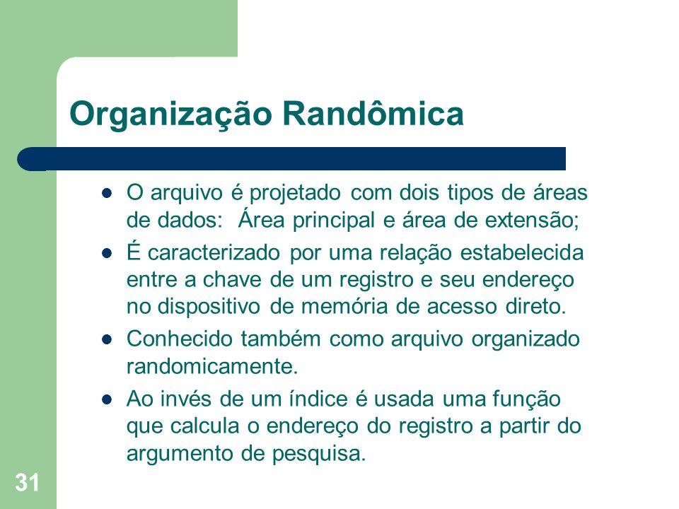 Organização Randômica