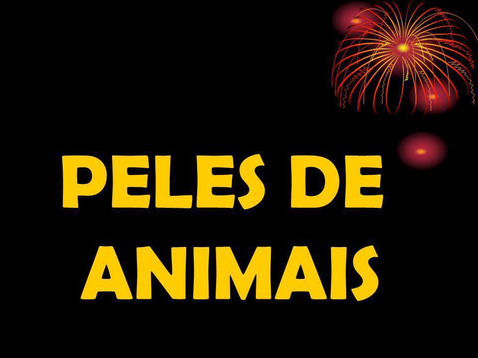 PELES DE ANIMAIS