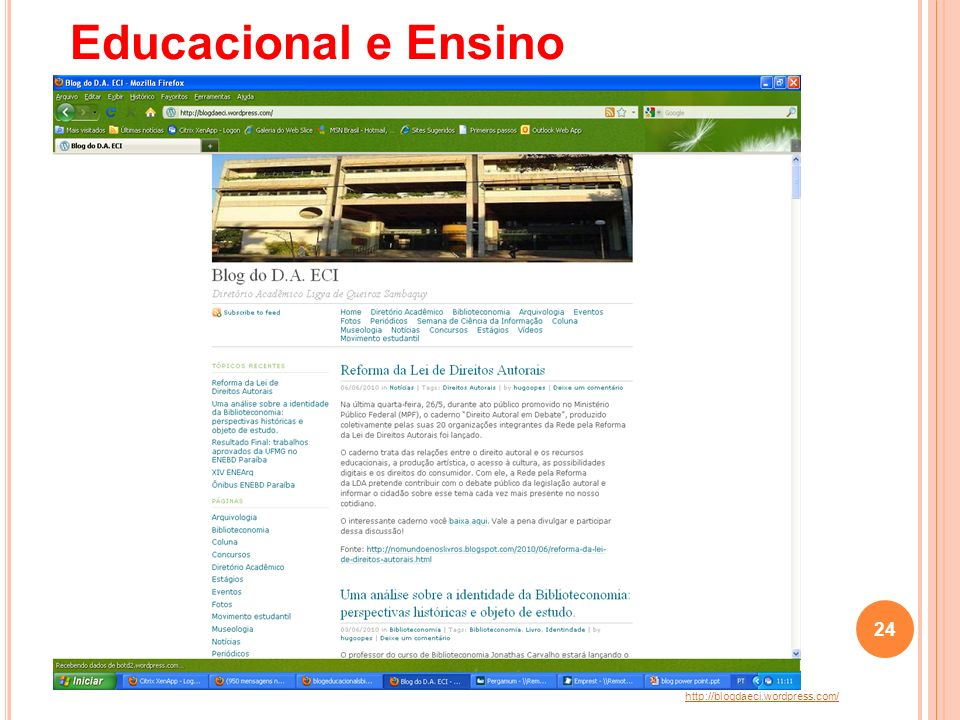 Educacional e Ensino http://blogdaeci.wordpress.com/