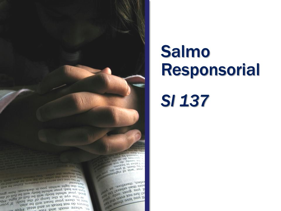 Salmo Responsorial Sl 137