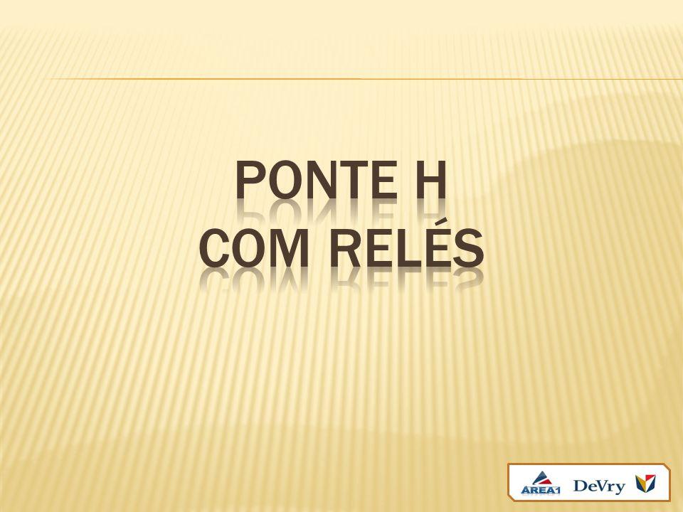 PONTE H com relés
