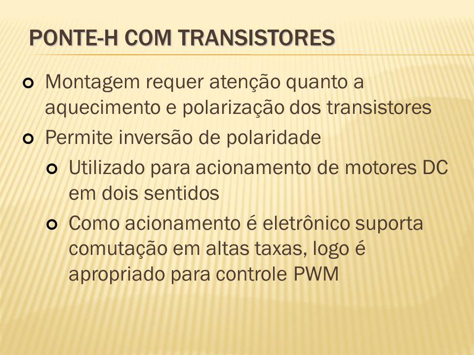 PONTE-H com transistores