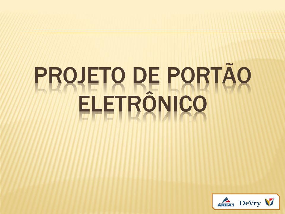Projeto de portão eletrônico