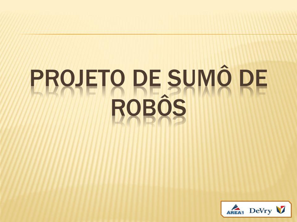 Projeto de sumô de robôs