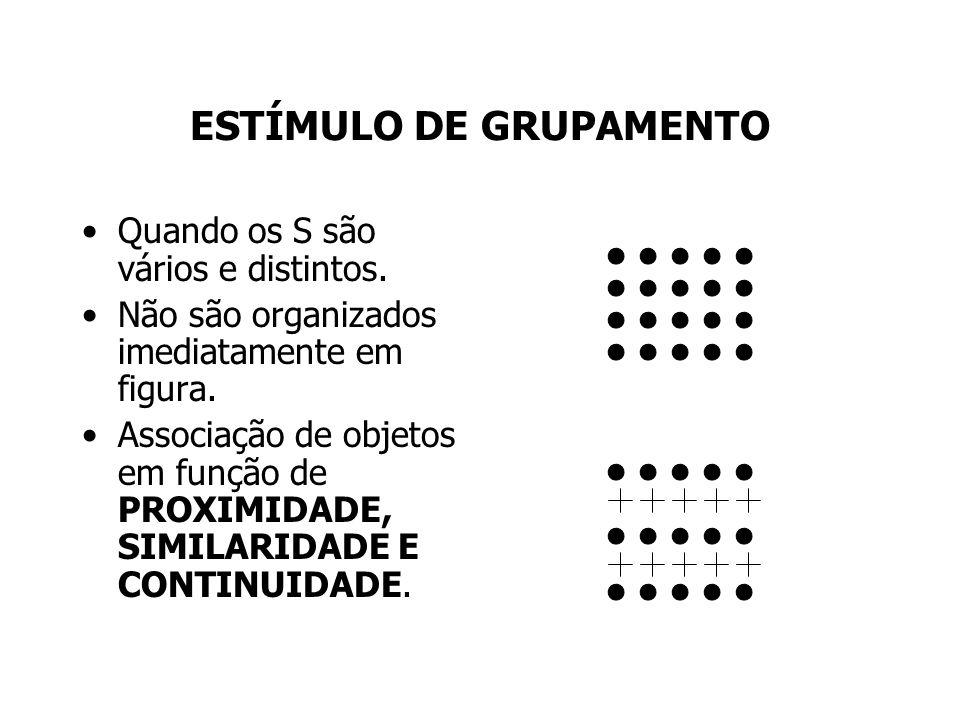 ESTÍMULO DE GRUPAMENTO