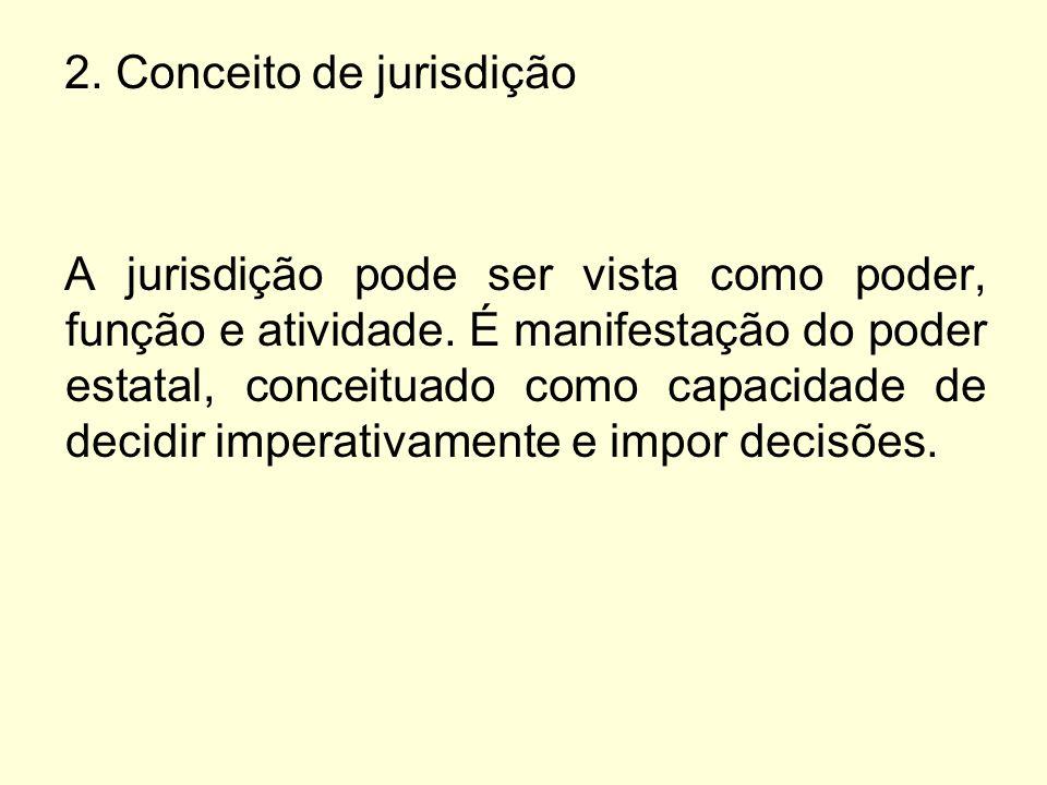 2. Conceito de jurisdição