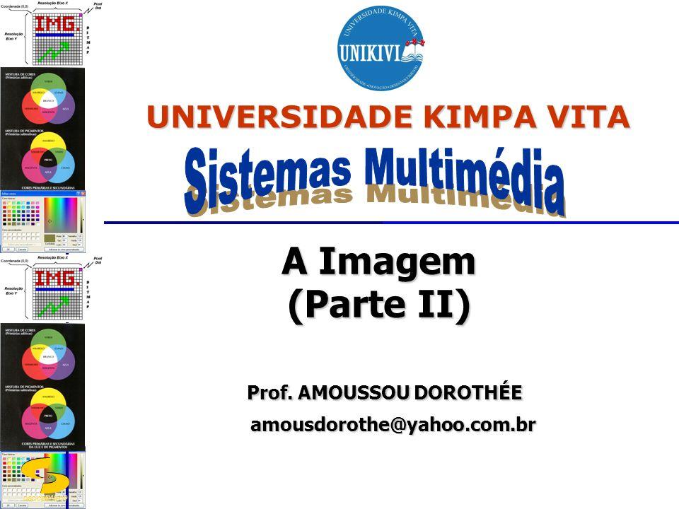 A Imagem (Parte II) Prof. AMOUSSOU DOROTHÉE amousdorothe@yahoo.com.br