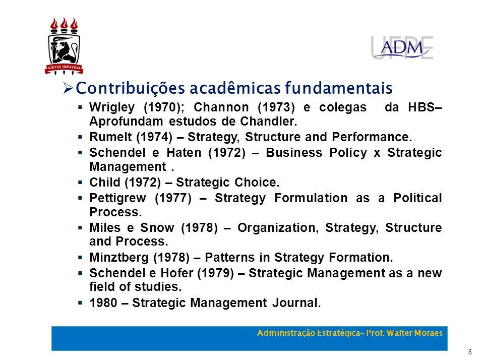 Contribuições acadêmicas fundamentais