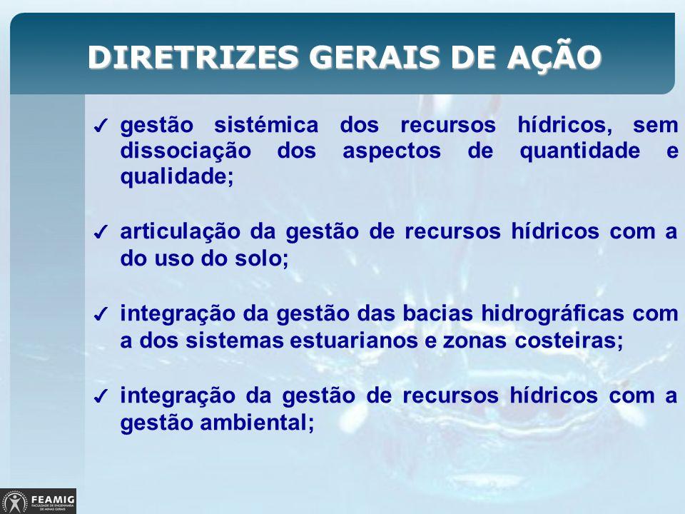 DIRETRIZES GERAIS DE AÇÃO