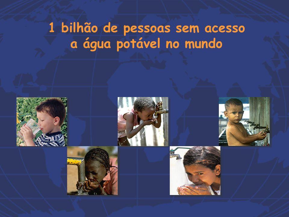 1 bilhão de pessoas sem acesso