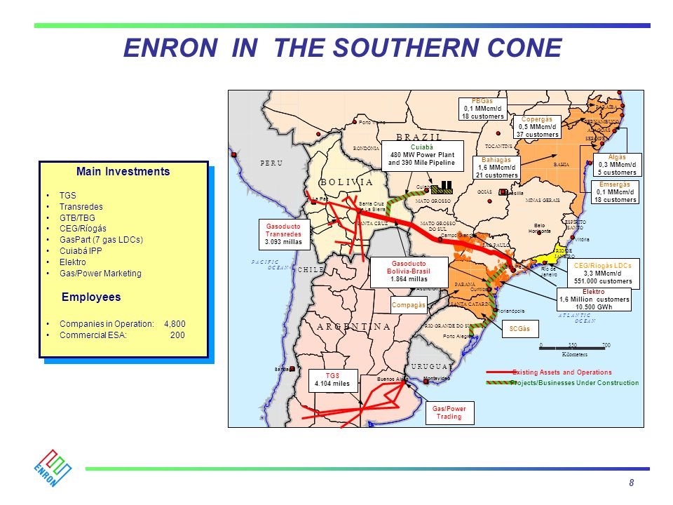 ENRON IN THE SOUTHERN CONE