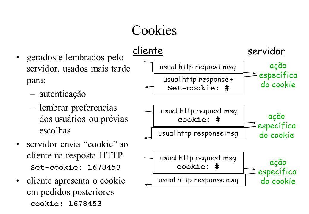 Cookies cliente servidor
