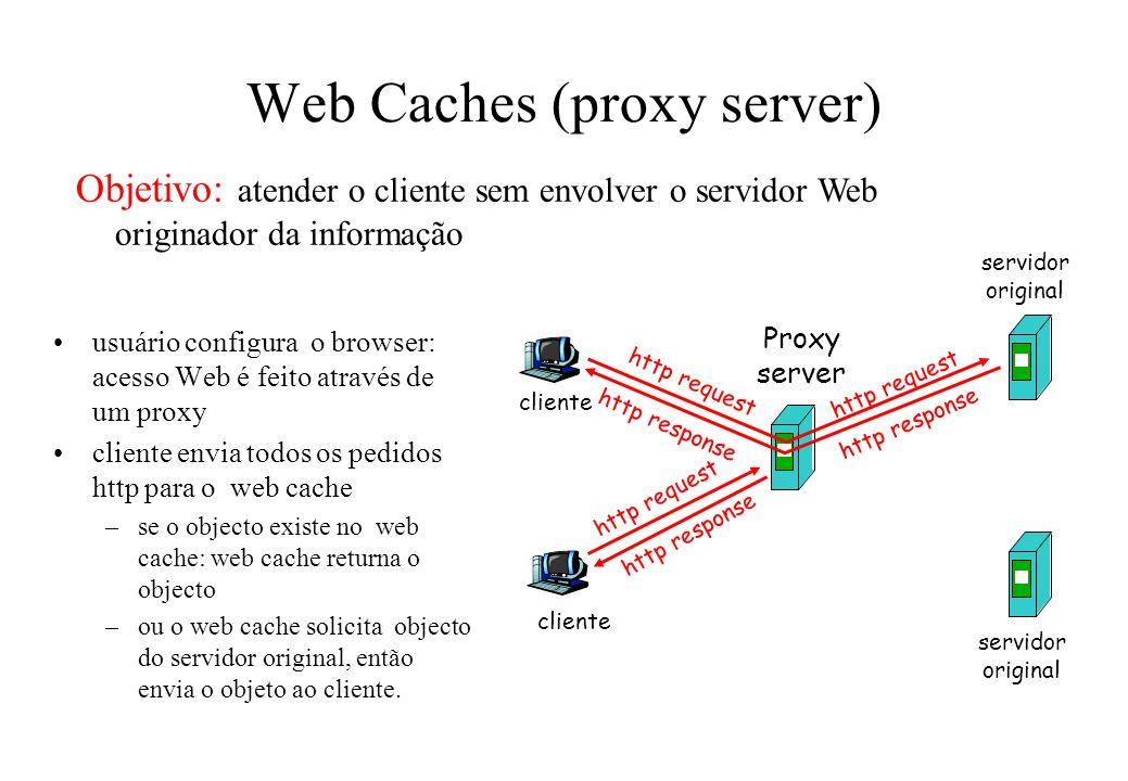 Web Caches (proxy server)