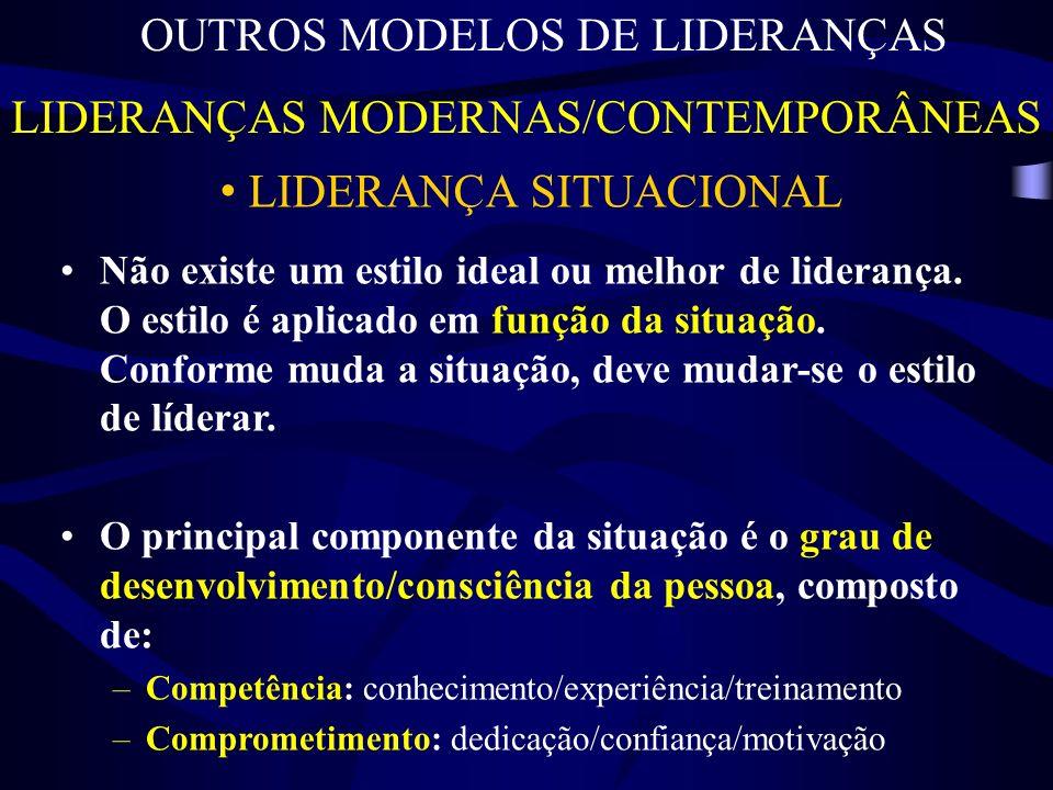 OUTROS MODELOS DE LIDERANÇAS